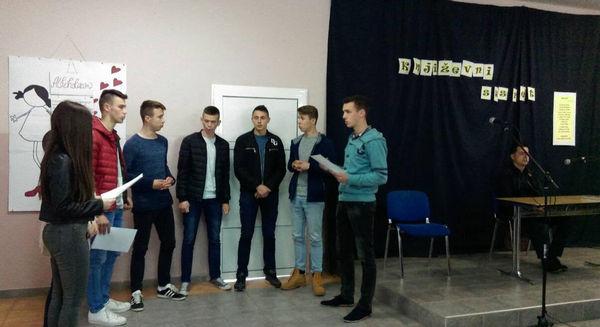 U književnim susretima Srednja škola Stolac ugostila pjesnika Stanka Krnjića
