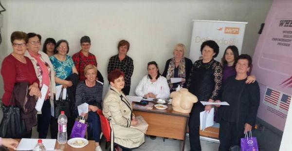 Foto: Uspješno provedena akcija mamografskih pregleda u Stocu