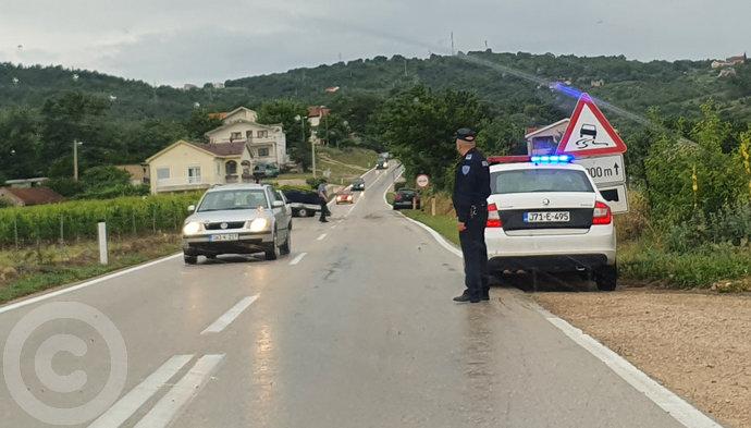 Za vikend 25 prometnih nesreća u Hercegovini