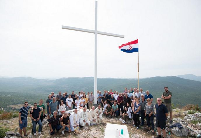 Foto: Blagoslov Križa na Gradini u Boljunima