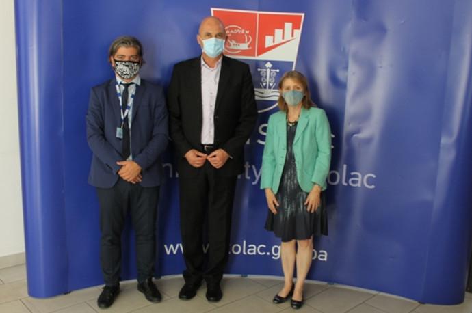 Šefica Misije OSCE-a u BiH u posjetu Stocu