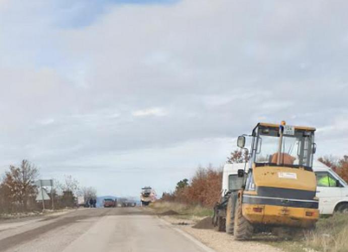 U tijeku radovi na cesti Stolac-Čapljina, oprez u vožnji