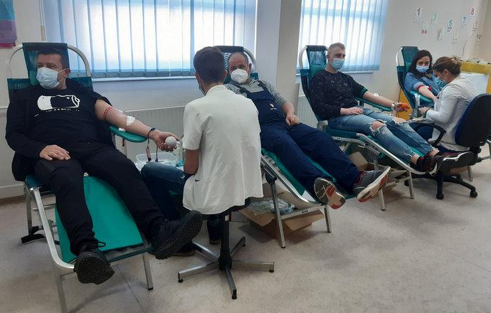 Foto: U Stocu održana akcija dobrovoljnog darivanja krvi
