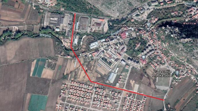 Poziv za dostavu komentara na izgradnju projekta Ulaz u Stolac - veza na M6