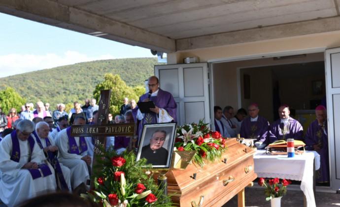 Na Rotimlji pokopan don Luka Pavlović