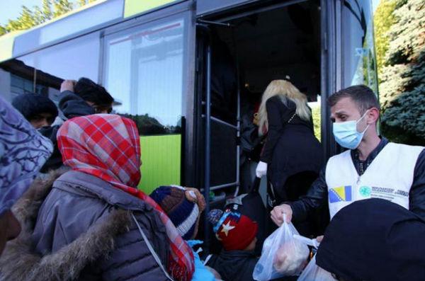 Nakon dugotrajnih pregovora migranti ipak ušli u HNŽ