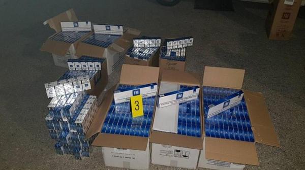 U Trebinju zaplijenjeno 7.980 kutija cigareta