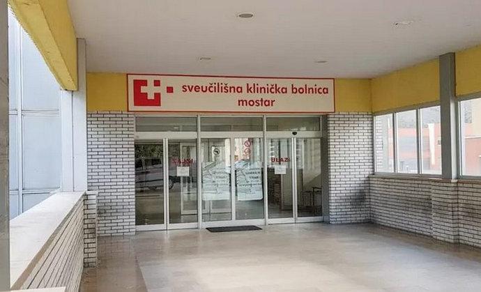 HNŽ: Tijekom vikenda 75 novozaraženih, četiri osobe preminule u SKB-u Mostar