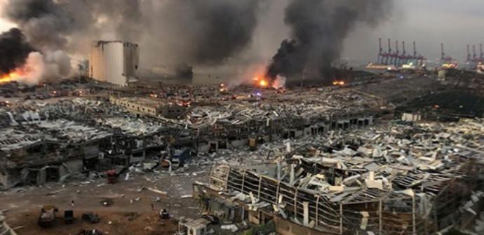 Stravična slika iz Bejruta: Eksplozija ubila više od 100 ljudi, više od 4000 ozlijeđenih