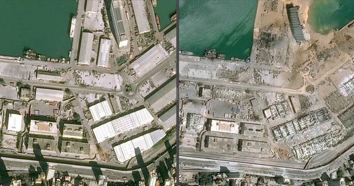 Kako je izgledao Bejrut prije, a kako izgleda nakon snažne eksplozije