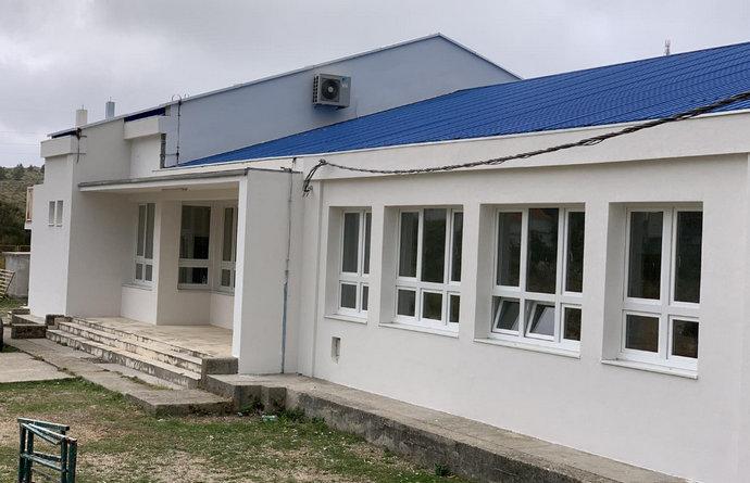 Utopljena zgrada Područnog odjela Ivanica Osnovne škole Ravno
