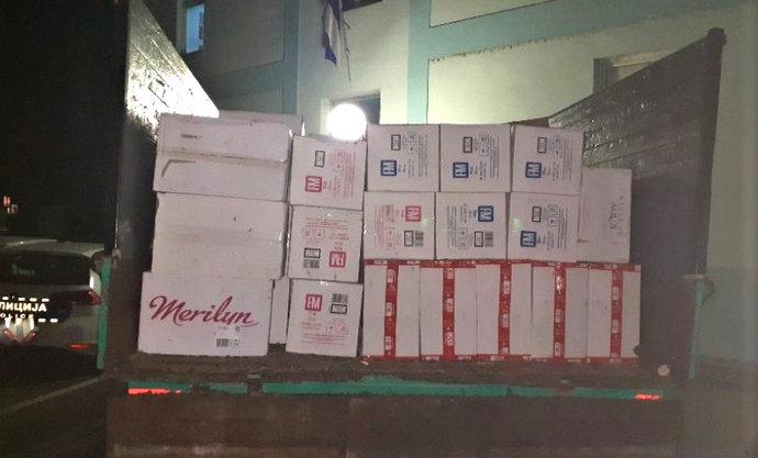 Bileća: Posušanin uhvaćen sa 40.200 kutija cigareta