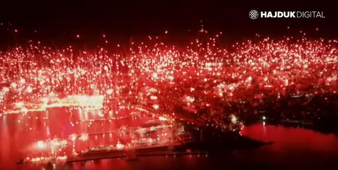 Torcida proslavila 70. rođendan, scene iz Splita obilaze svijet