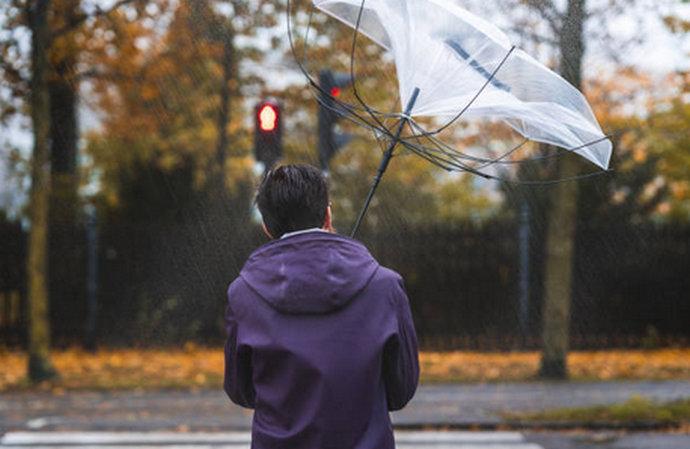 Narančasto upozorenje u cijeloj BiH zbog olujnih udara vjetra južnog smjera