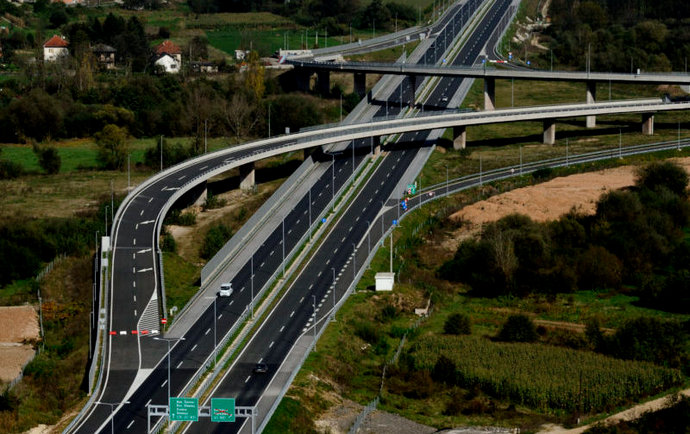 Prihod Autocesta FBiH u 2020. od naplate cestarine 36,4 milijuna KM