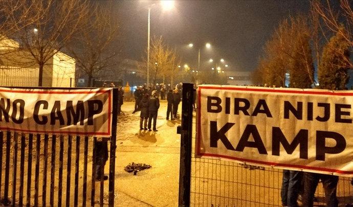 Predstavnik EU došao u Bihać uvjeravati da otvore kamp za migrante, nije dobro prošlo