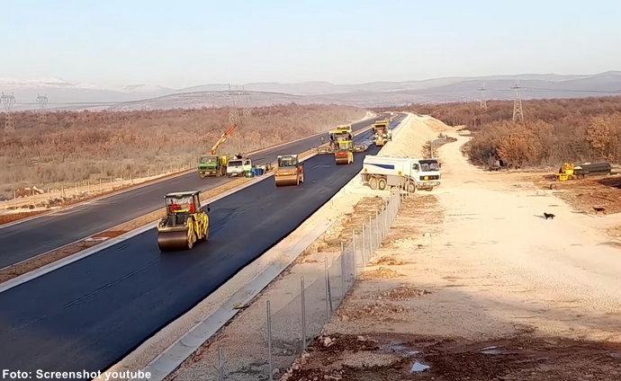 Radovi na autocesti Buna - Počitelj dužine 7,2 kilometara završavaju za tri mjeseca