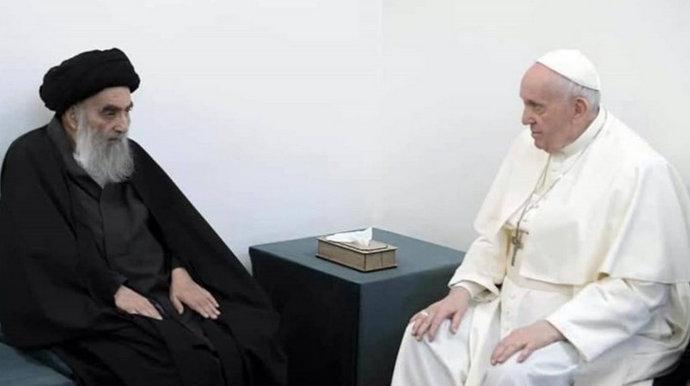 U Iraku se sreli papa Franjo i šijitski duhovni vođa