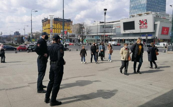 Policija izdala 79 prekršajnih naloga zbog nenošenja zaštitne maske