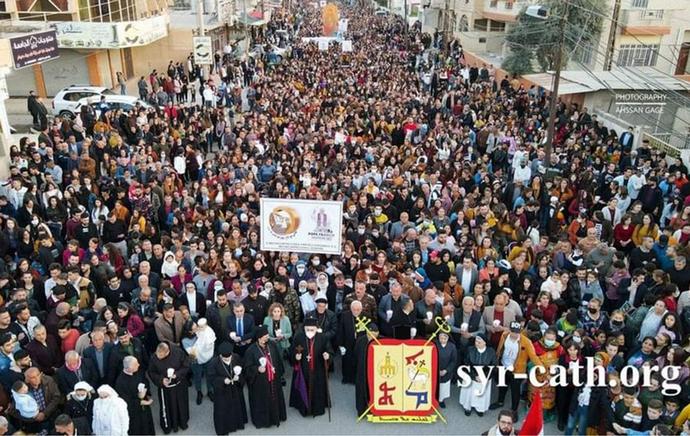 Irački kršćani bdjeli uoči Papina dolaska