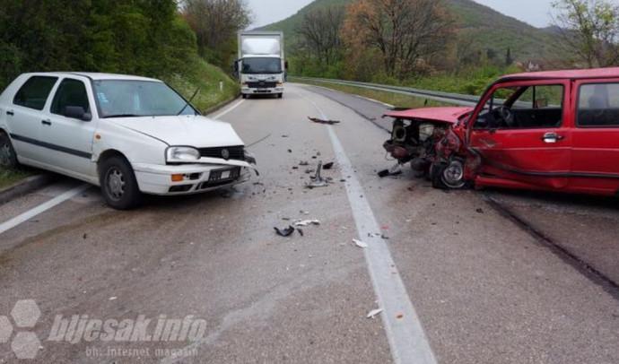 Kvanj: Teška prometna nesreća