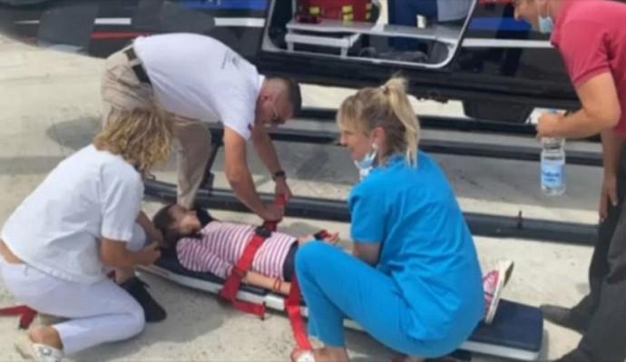 Djevojčica iz Berkovića u teškom stanju helikopterom prebačena na UKC RS