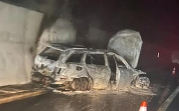 Zapaljen automobil u kojemu se vozio sudac utakmice Velež-Borac