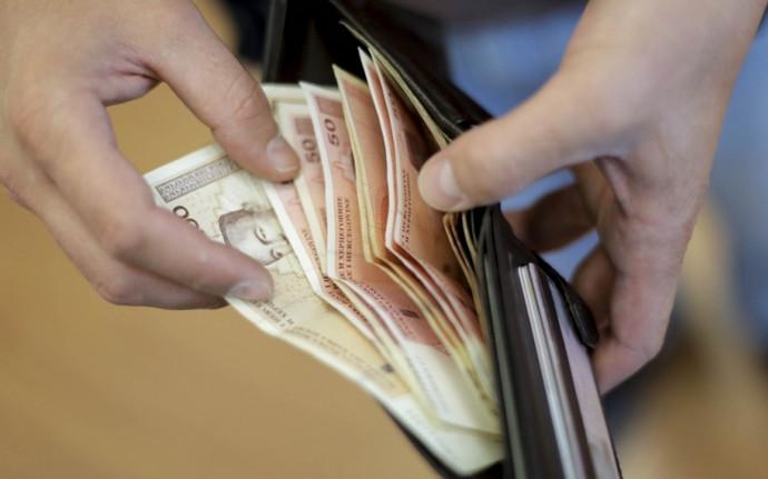 Prosječna neto plaća u FBiH 995 KM, a bruto plaća 1.541 KM