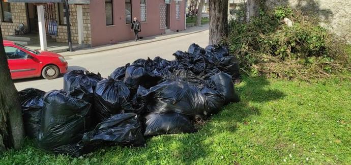 Održana akcija čišćenja gradskog parka u Stocu
