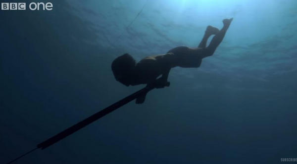Misterij 'ljudi riba': Imaju veće slezene i rone čak 13 minuta