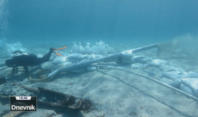 Kod otoka Ilovika pronađen antički brod star 2200 godina