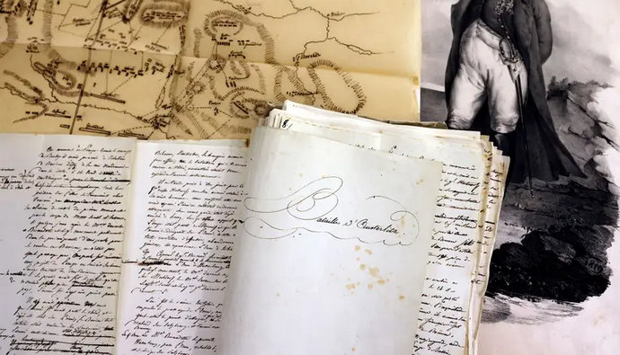 Prodaju Napoleonov zapis o bitki kod Austerlitza, početna cijena milijun eura
