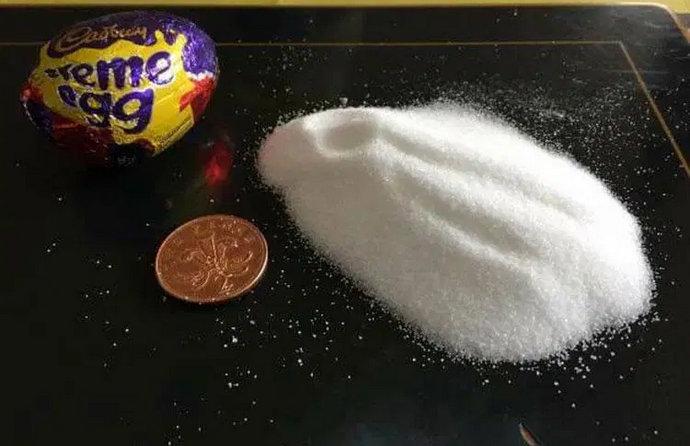 Pokazala koliko šećera sadrži jedno čokoladno jaje: Možete li vjerovati što djeca jedu?