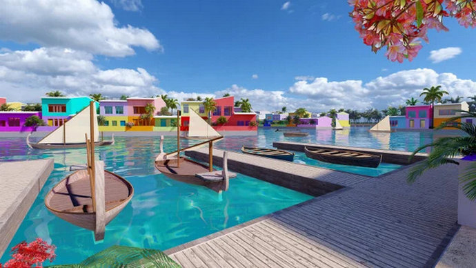 Prvi plutajući grad spašava Maldive od rastućeg nivoa mora
