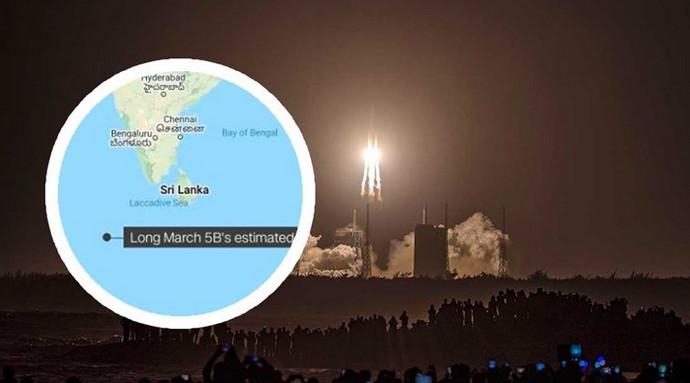 Ostaci kineske rakete pali u Indijski ocean, kod Maldiva
